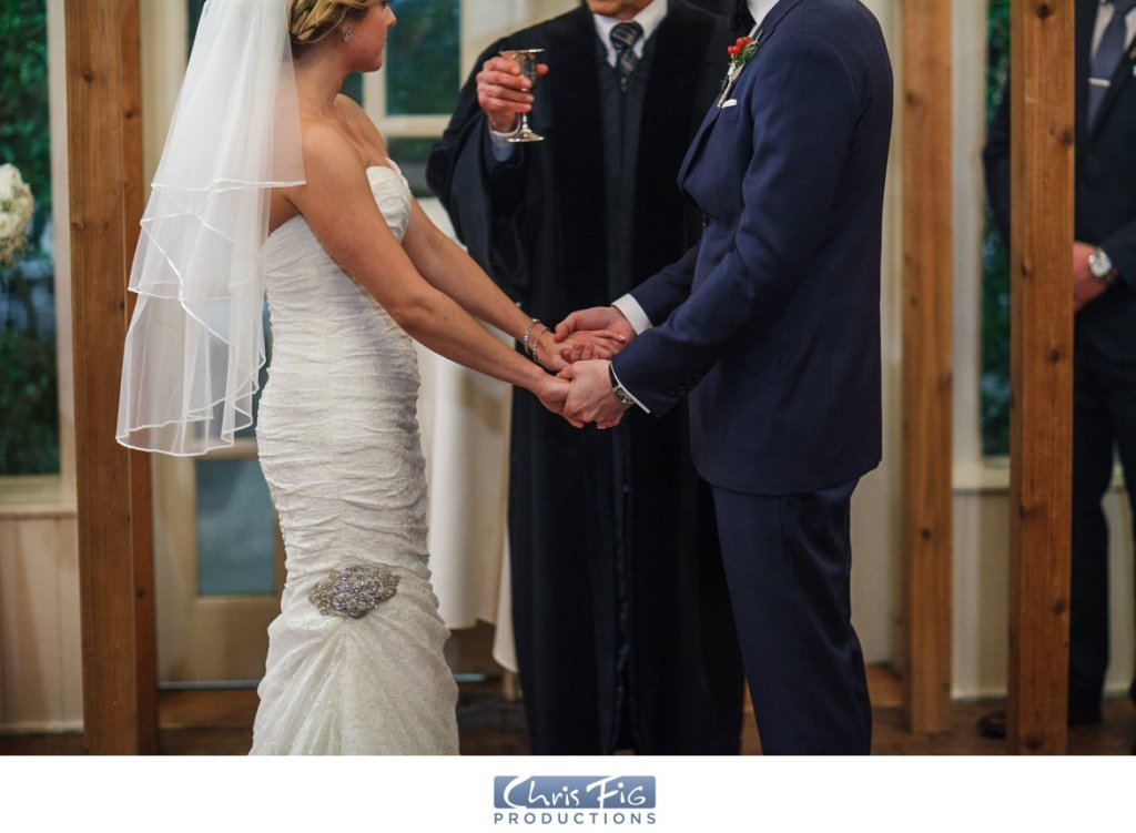Wedding ceremony Crab Tree Kittles House