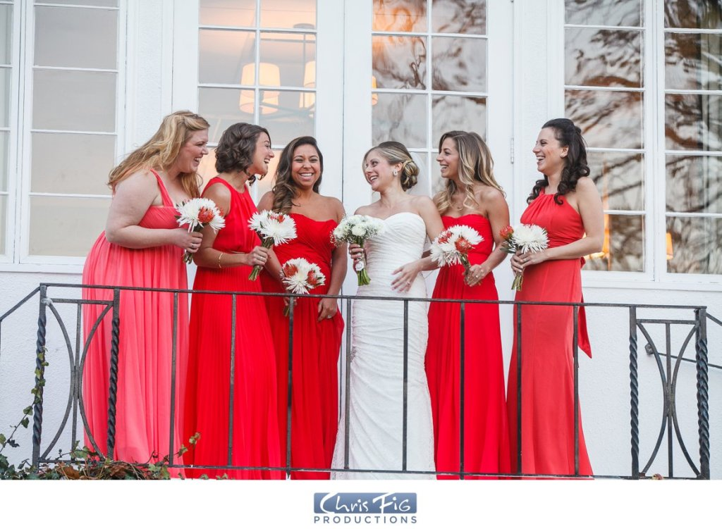 Bridesmaids New York Wedding