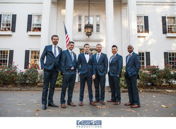 Groomsmen New York Wedding